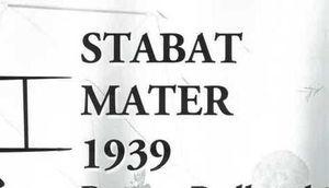 "STABAT MATER 1939 Roman Padlewski ""Skorupka"""