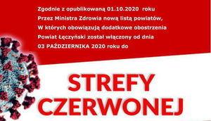 COVID 19 - STREFA CZERWONA