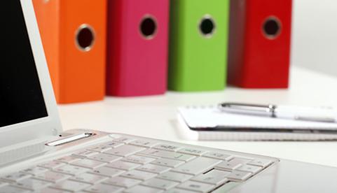 Laptop i segregatory