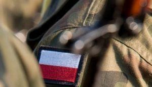 Flaga Polska na mundurze