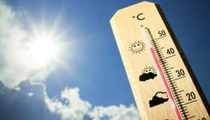 Termomentr na słońcu