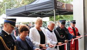Uroczyste oddanie do użytku strażnicy w Spiczynie.