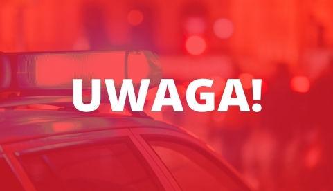Grafika z napisem UWAGA!