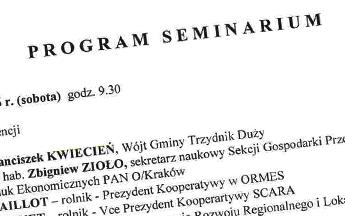 II polsko-francuskie seminarium naukowe