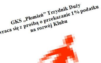 1% podatku dla GKS - Płomień