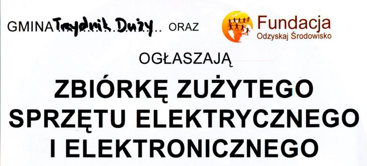 Zbiórka - Elektrośmieci