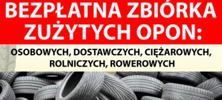 Zbiórka zużytych opon - 23.09.2014