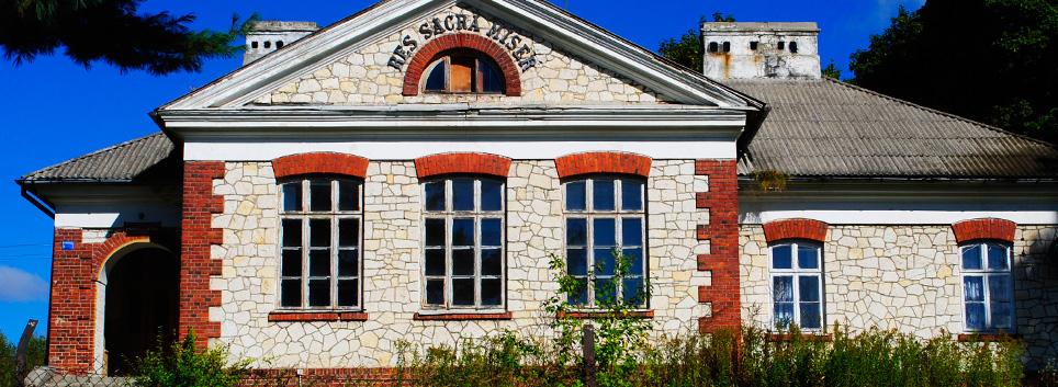 Ochronka - budynek murowany (1921 r.) w Węglinie
