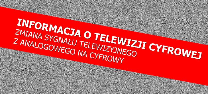 Informacja o telewizji cyfrowej