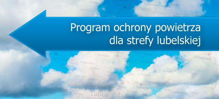 Program ochrony powietrza dla strefy lubelskiej