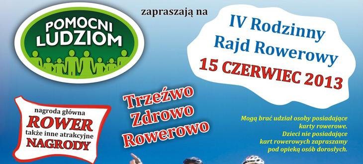 IV Rodzinny Rajd Rowerowy
