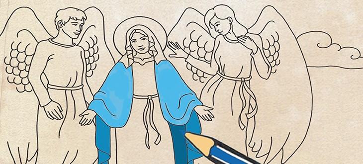 Konkurs plastyczny pn. Twoja ulubiona opowieść biblijna