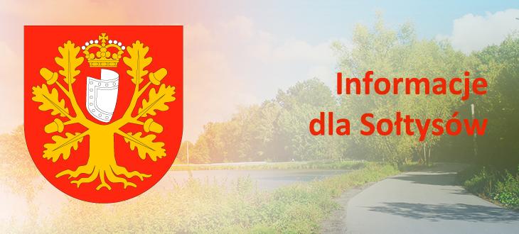 Informacje dla Sołtysów