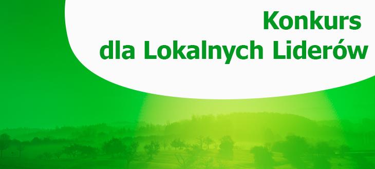 Konkurs dla Lokalnych Liderów