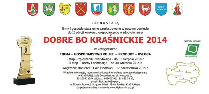 Konkurs - Dobre bo Kraśnickie 2014