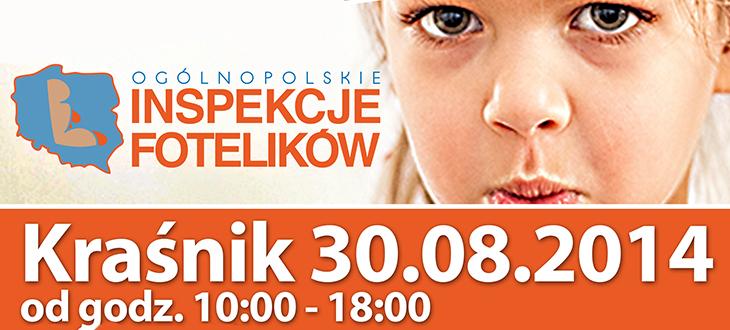 Ogólnopolskie Inspekcje Fotelików Kraśnik 30.08.2014