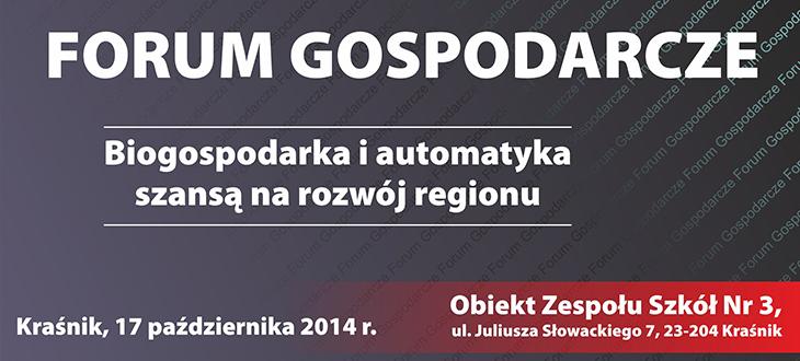 Zapraszamy do obejrzenia na żywo transmisji z Forum Gospodarczego