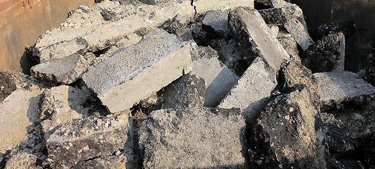 Zbiórka odpadów budowlano-remontowych