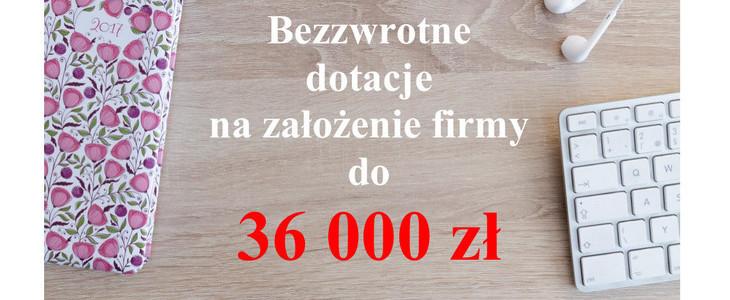 Bezzwrotne dotacje na założenie firmy dla kobiet z powiatu kraśnickiego