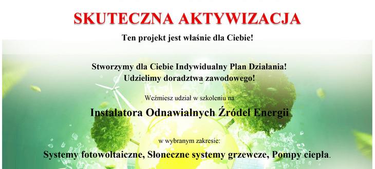 """Projekt """"Instalator Urządzeń Energii Odnawialnej"""""""