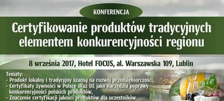 Zaproszenie na konferencję 8.09.2017 r. w Lublinie