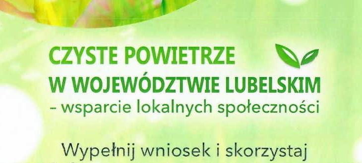 """Dyżur w urzędzie gminy """"Czyste Powietrze"""""""