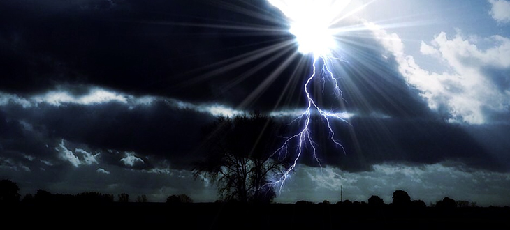 Grafia pogodowa - Burza