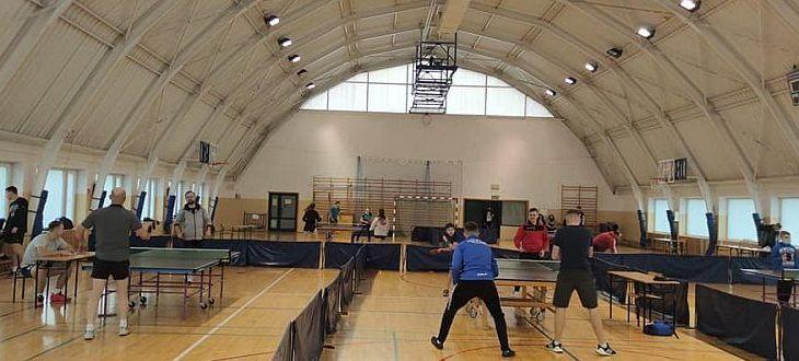 Hala sportowa podczas zawodów