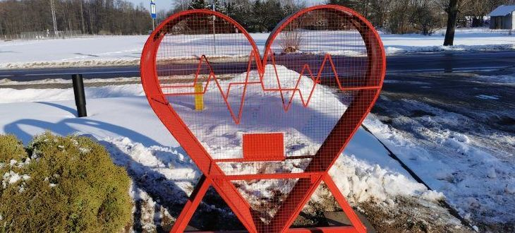 Serce - miejsce na nakrętki
