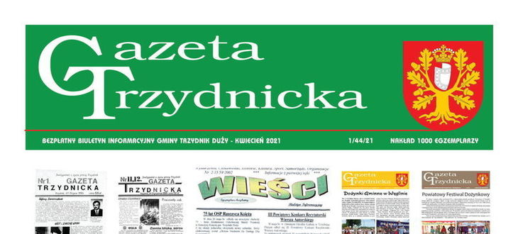 Okładka gazety