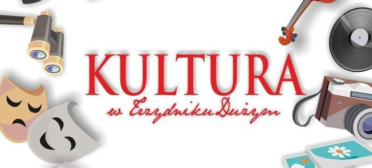 Grafika z napisem Kultura w Trzydniku Dużym