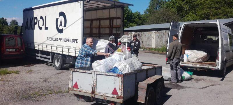 Zbiórka odpadów rolniczych