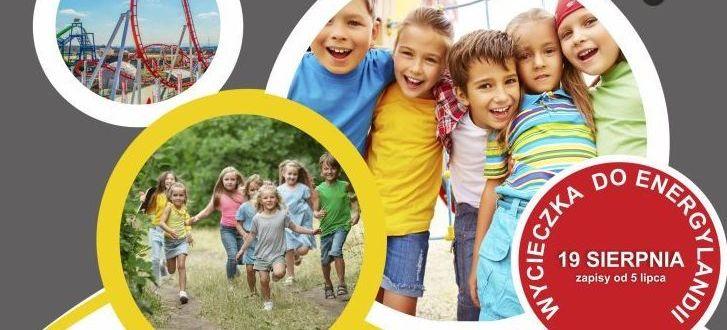 Kawałek plakatu: Uśmiechnięte dzieci