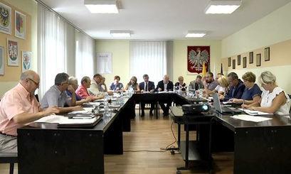 XV sesja Rady Miejskiej w Żarowie