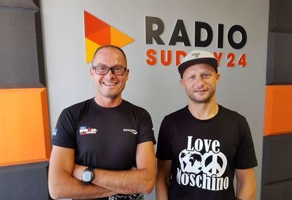 """""""Szaleni faceci"""": Marcin Duduś i Tomasz Rudnik w Radio Sudety24"""