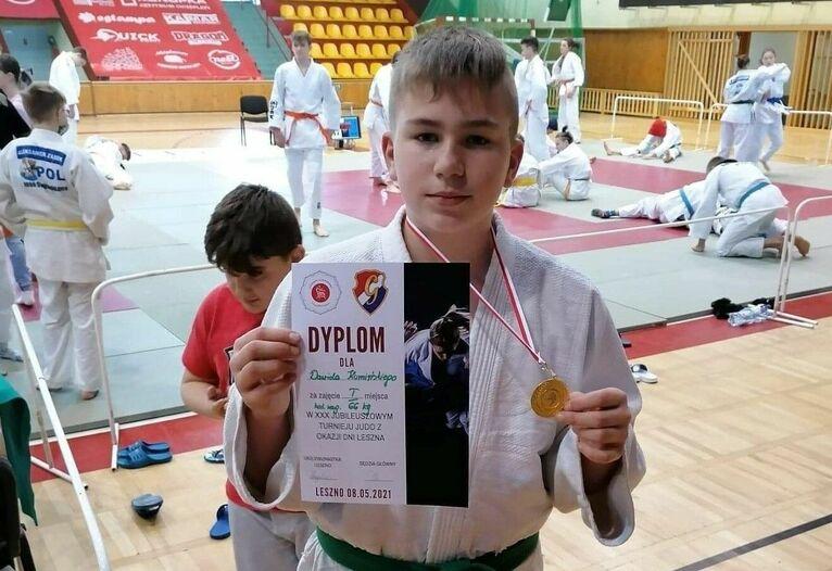Sukces Dawida Kamińskiego na Turnieju Judo w Lesznie
