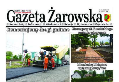 Nowy numer Gazety Żarowskiej 11/2021