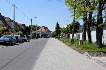 Chodnik przy ul. Słowiańskiej oddany do użytku mieszkańców