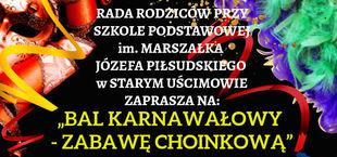 BAL KARNAWAŁOWY - ZABAWA CHOINKOWA