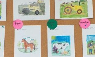 Fotogaleria- prace plastyczne promujące spis rolny 2020