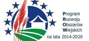 Logo Program Rozwoju Obszarów Wiejskich na lata 2014-2020