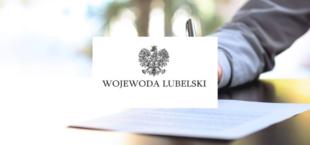 Grafika logo Wojewoda Lubelski