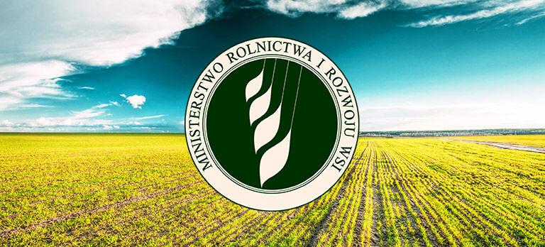 Minister Rolnictwa i Rozwoju Wsi informuje: