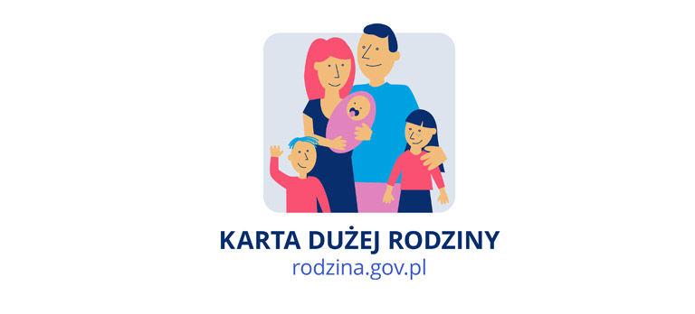 Jak otrzymać Kartę Dużej Rodziny- informacja OPS