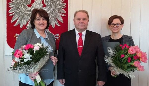 Uroczyste wręczenie Aktu powołania na stanowisko Dyrektora Szkoły Podstawowej im. Stanisława Marusarza w Wojciechowie