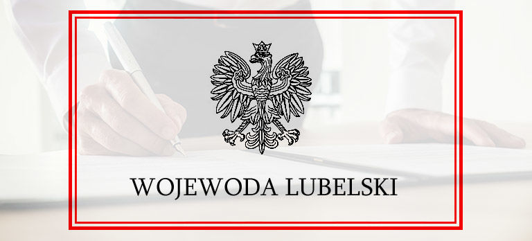 Obwieszczenie Wojewody Lubelskiego o wydaniu decyzji o ustaleniu linii kolejowej