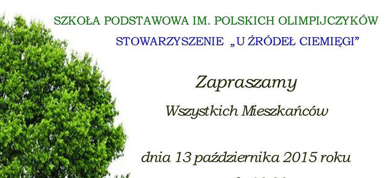 """Szkoła Podstawowa w Miłocinie serdecznie zaprasza na uroczystość """"Ocalić od zapomnienia..."""""""