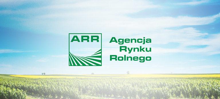 Agencja Rynku Rolnego informuje