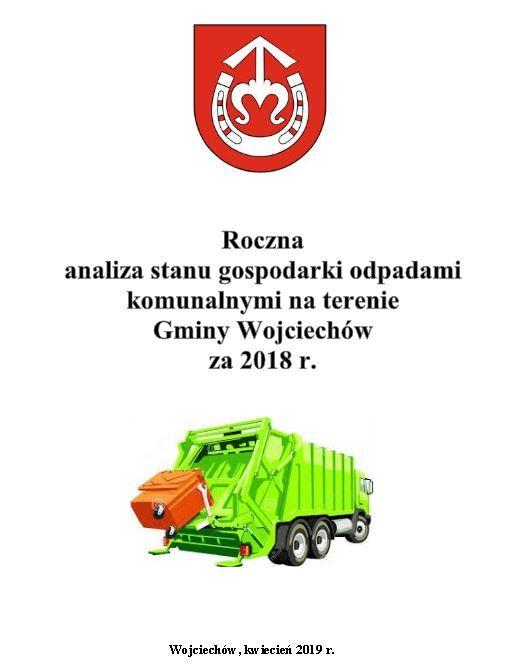 Roczna analiza gospodarki odpadami komunalnymi na terenie Gminy Wojciechów