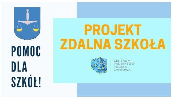 """""""Zdalna Szkoła"""" w Gminie Wojciechów"""